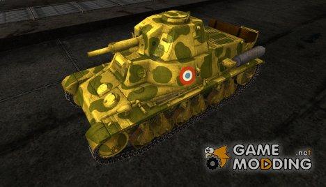Шкурка для H39 for World of Tanks