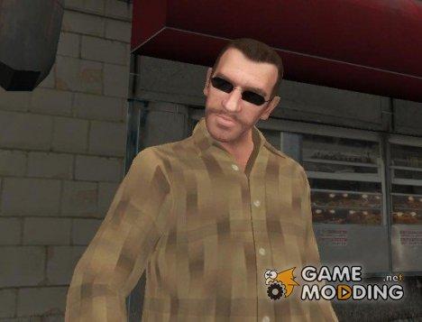 Новые очки для Нико for GTA 4