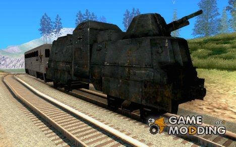 Немецкий бронепоезд второй мировой for GTA San Andreas