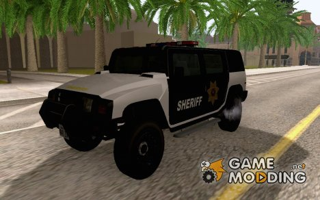Mammoth Patriot San Andreas Sheriff SUV для GTA San Andreas