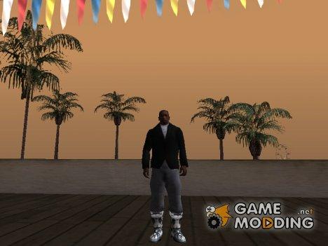 Сапоги зимний камуфляж for GTA San Andreas