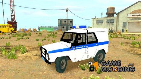 """УАЗ 31512 """"Полиция"""" для GTA 4"""