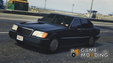 Mercedes-Benz 600 SEL (W140) v1.2 for GTA 5