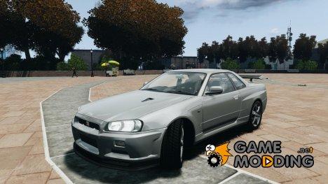 Nissan Skyline GT-R34 FNF for GTA 4