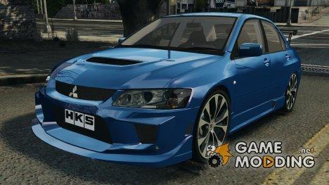 Mitsubishi Lancer Evolution 8 v2.0 for GTA 4