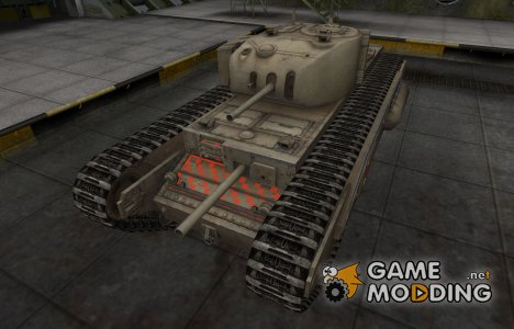 Контурные зоны пробития Churchill I for World of Tanks