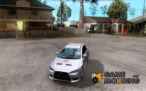 Mitsubishi Lancer Evolution X Tunable for GTA San Andreas