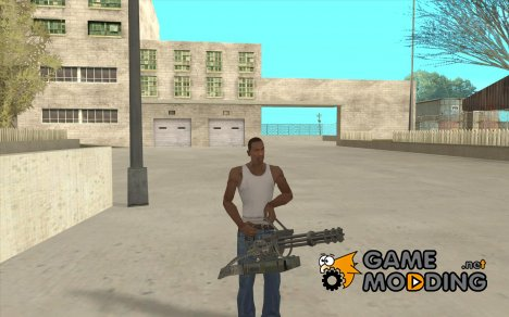Hand Held M134 Minigun for GTA San Andreas