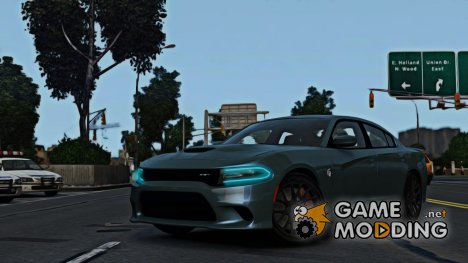 2015 Dodge Charger SRT Hellcat для GTA 4