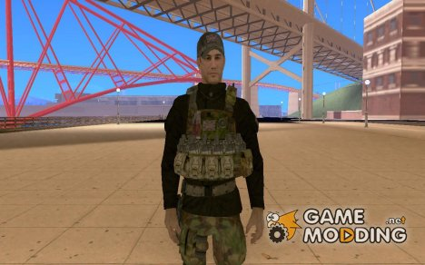 Персонаж из COD4 for GTA San Andreas