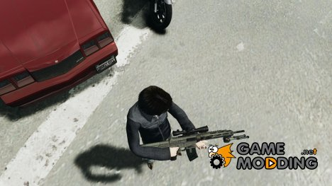 RSASS из MW3 (снайперка) for GTA 4
