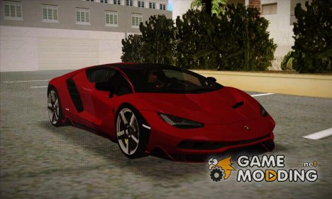 Lamborghini Centenario LP770-4 Full Featured White Rims для GTA San Andreas