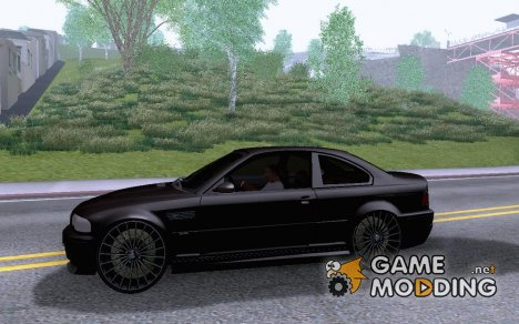 BMW M3 E46 Custom for GTA San Andreas