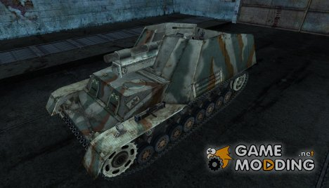 Hummel Galland for World of Tanks