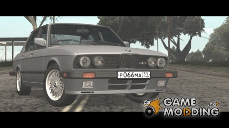 BMW M5 1985 for GTA San Andreas