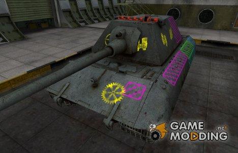 Качественные зоны пробития для E-100 для World of Tanks
