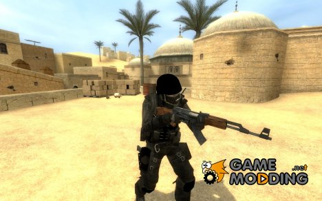 Armored Tactical CT for Counter-Strike Source
