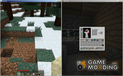 Joypad Mod/Split screen Mod for Minecraft