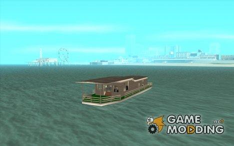 ДОМ НА ПЛАВУ для GTA San Andreas