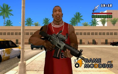 SG552 from BBC2 for GTA San Andreas