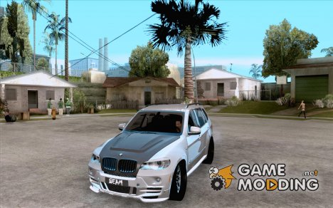 BMW X5 with Wagon BEAM Tuning для GTA San Andreas