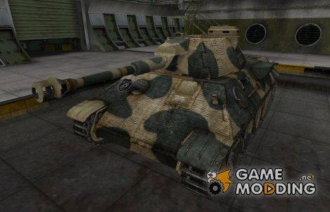 Исторический камуфляж VK 30.02 (D) для World of Tanks