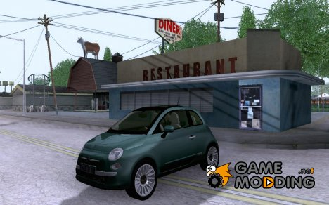 Fiat 500 for GTA San Andreas