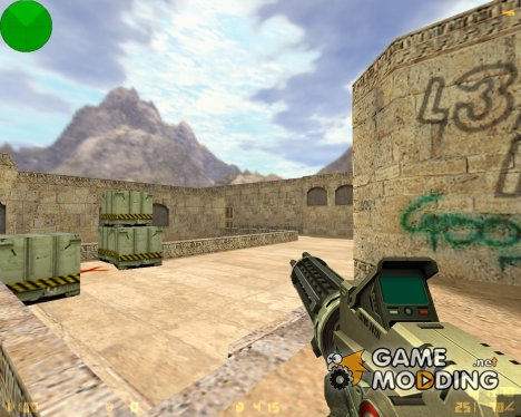 Лазерный Minigun for Counter-Strike 1.6