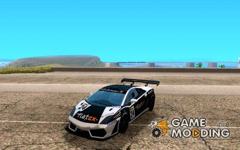 Lamborghini Gallardo LP560-4 GT3 V2.0 для GTA San Andreas