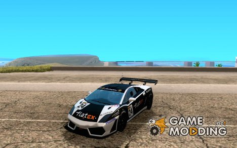 Lamborghini Gallardo LP560-4 GT3 V2.0 for GTA San Andreas