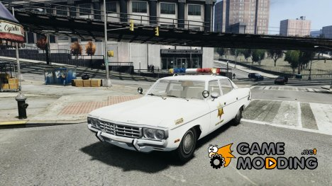 AMC Matador Hazzard County Sheriff для GTA 4