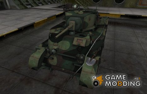 Китайскин танк M5A1 Stuart для World of Tanks