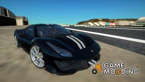 2019 Ferrari 488 Pista для GTA San Andreas