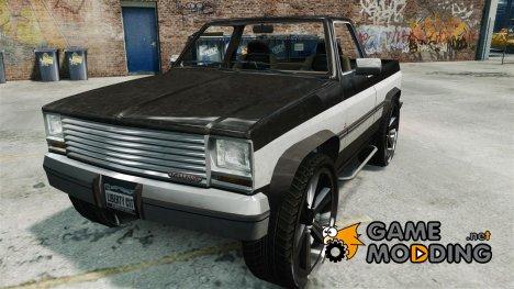 Rancher на 28-ми  дюймовых дисках for GTA 4