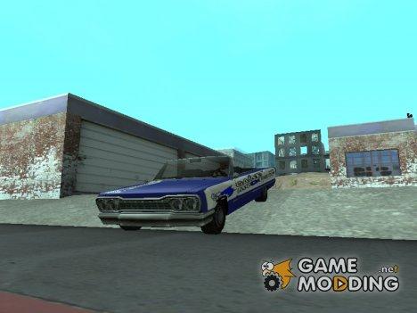 Новая покрасочная работа для Savanna для GTA San Andreas