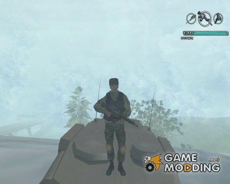 Боец из батальона Призрак для GTA San Andreas