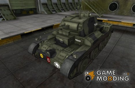 Шкурка для A13 Mk. I для World of Tanks