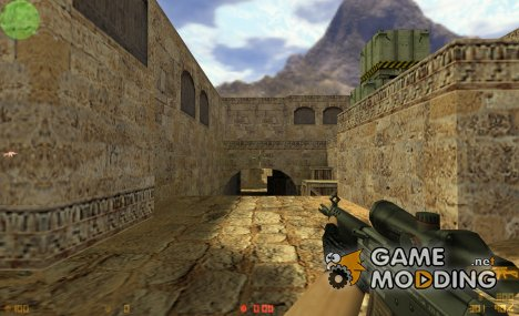 Default SG552 retexture for Counter-Strike 1.6