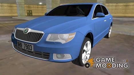 Skoda SuperB 2009 для GTA Vice City