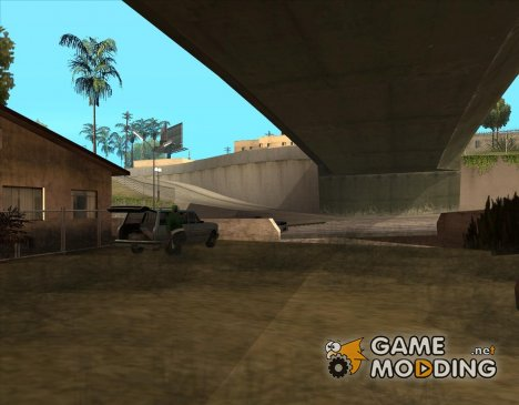 Продавец оружия на Гроув Стрит v3 for GTA San Andreas