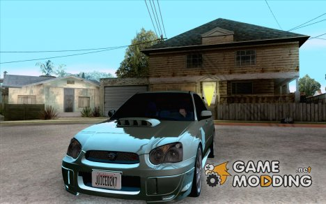 Subaru Impreza Tuned for GTA San Andreas