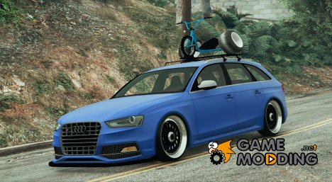 2014 Audi Avant RS4 for GTA 5
