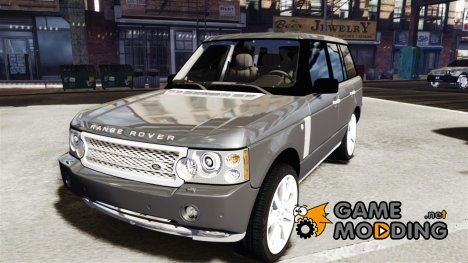 Range Rover Supercharged 2009 v2.0 for GTA 4