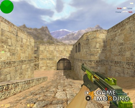 Brick Piece Shotgun for Counter-Strike 1.6
