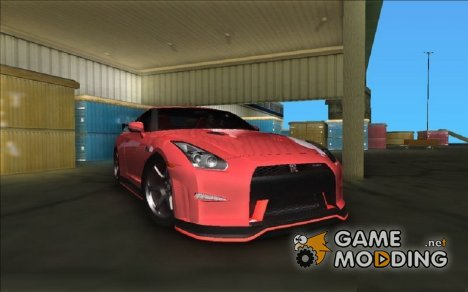 Nissan GTR R35 Nismo for GTA Vice City