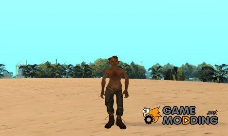Деревенский леший для GTA San Andreas