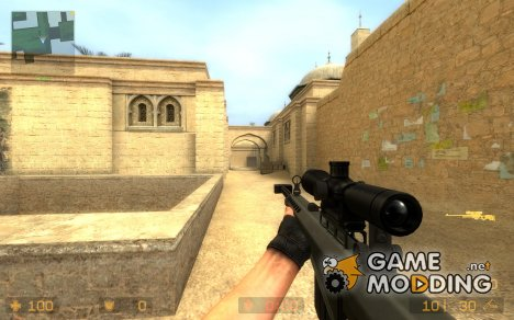 Sick's Barret M82 Animations! for Counter-Strike Source