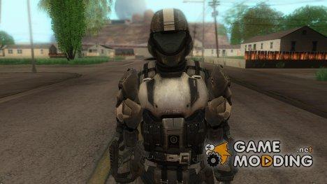 HALO 3 ODST для GTA San Andreas