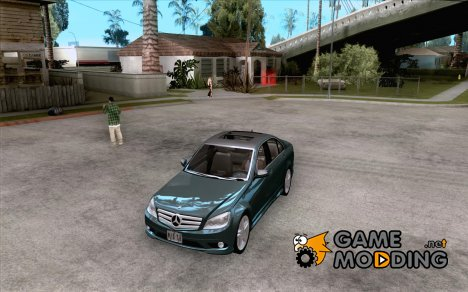 Mercedes Benz C350 W204 Avantgarde для GTA San Andreas