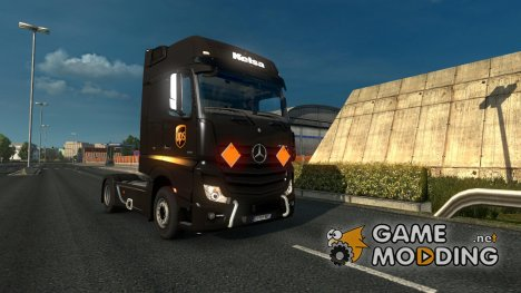 Mercedes Actros MP4 v 1.8 for Euro Truck Simulator 2